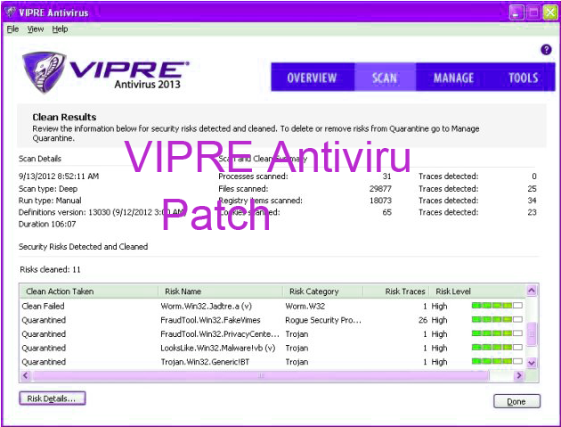 VIPRE Antivirus 2015 Patch License Key Portable Crack Free