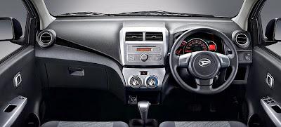 Dashboard Daihatsu Ayla