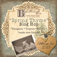 Spring Blog Hop ~ Hosted by Buttermilk Basin