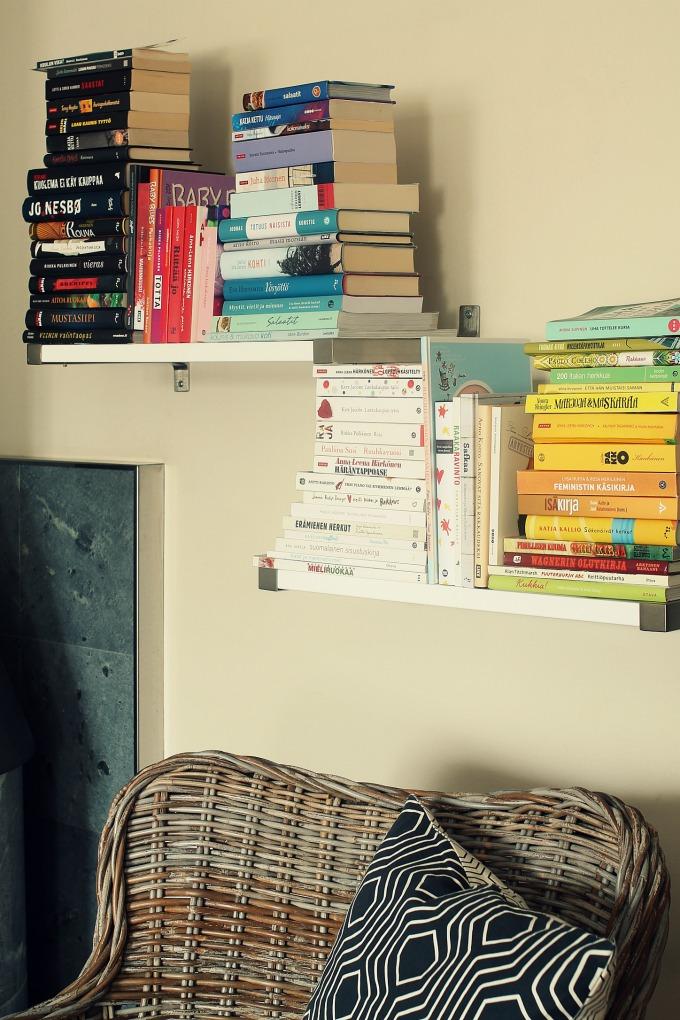 kirjahylly, kirjoja, kirjat, lukuvinkki