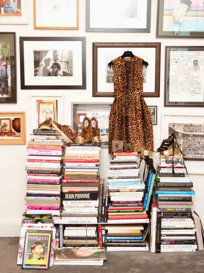 Interiors : at home with Aurélie Bidermann, Paris by Cool Chic Style Fashion