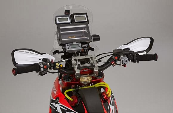 Autoesque  2014 Honda CRF450 Rally revealed