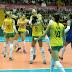 Grand Prix: Brasil vence Itália e avança em 1º à fase final