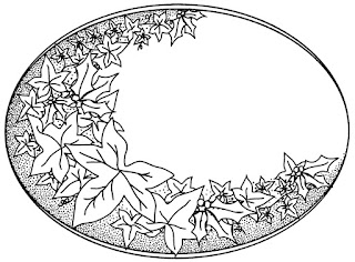 UMS642 HOLLY & IVY PLAQUE