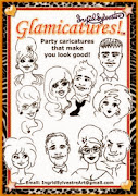 GLAMICATURES-TM  - party caricatures that make you look good!