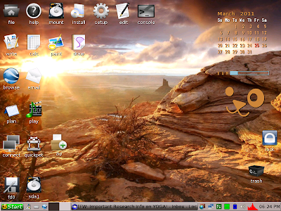 My Puppy Linux JWM desktop