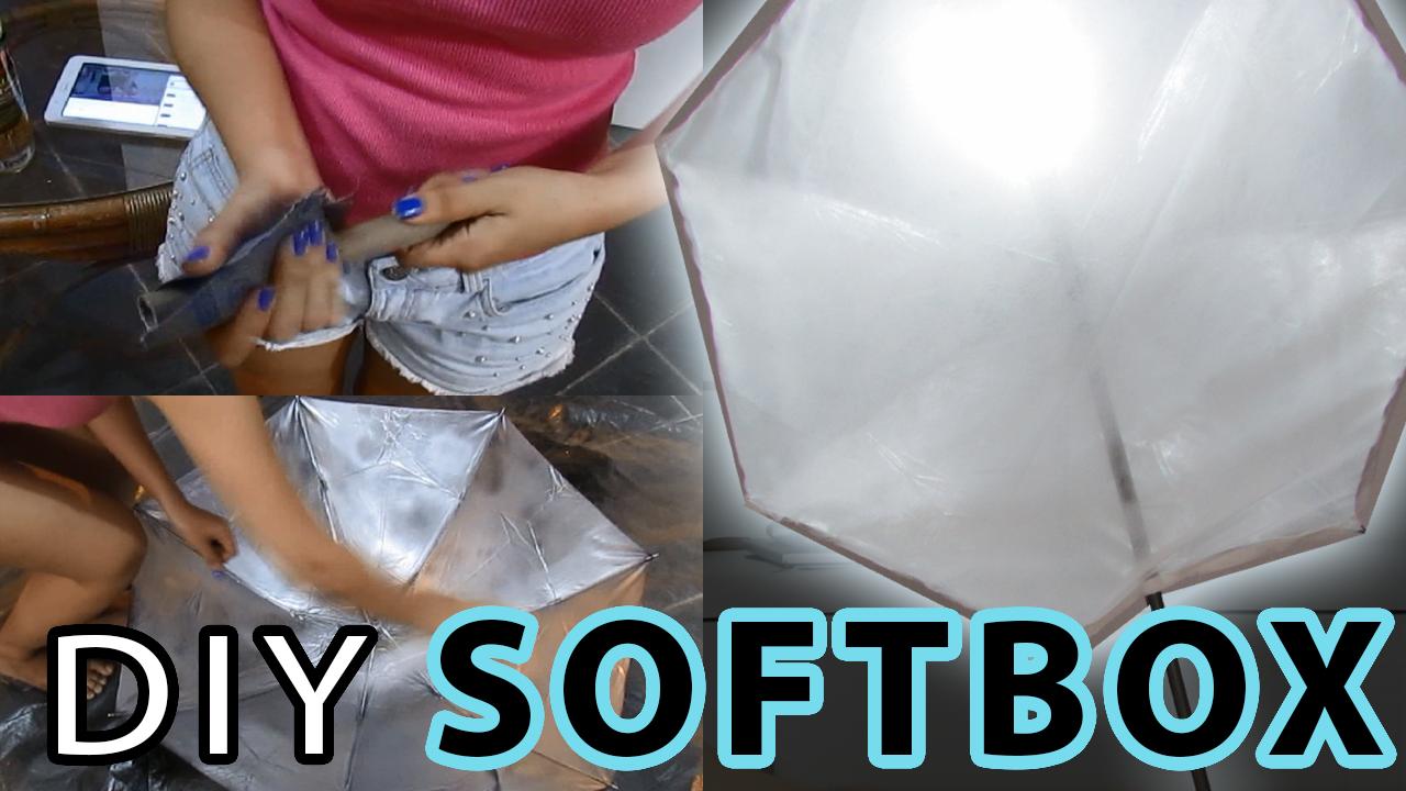 DIY – Softbox durável com menos de R$ 50,00