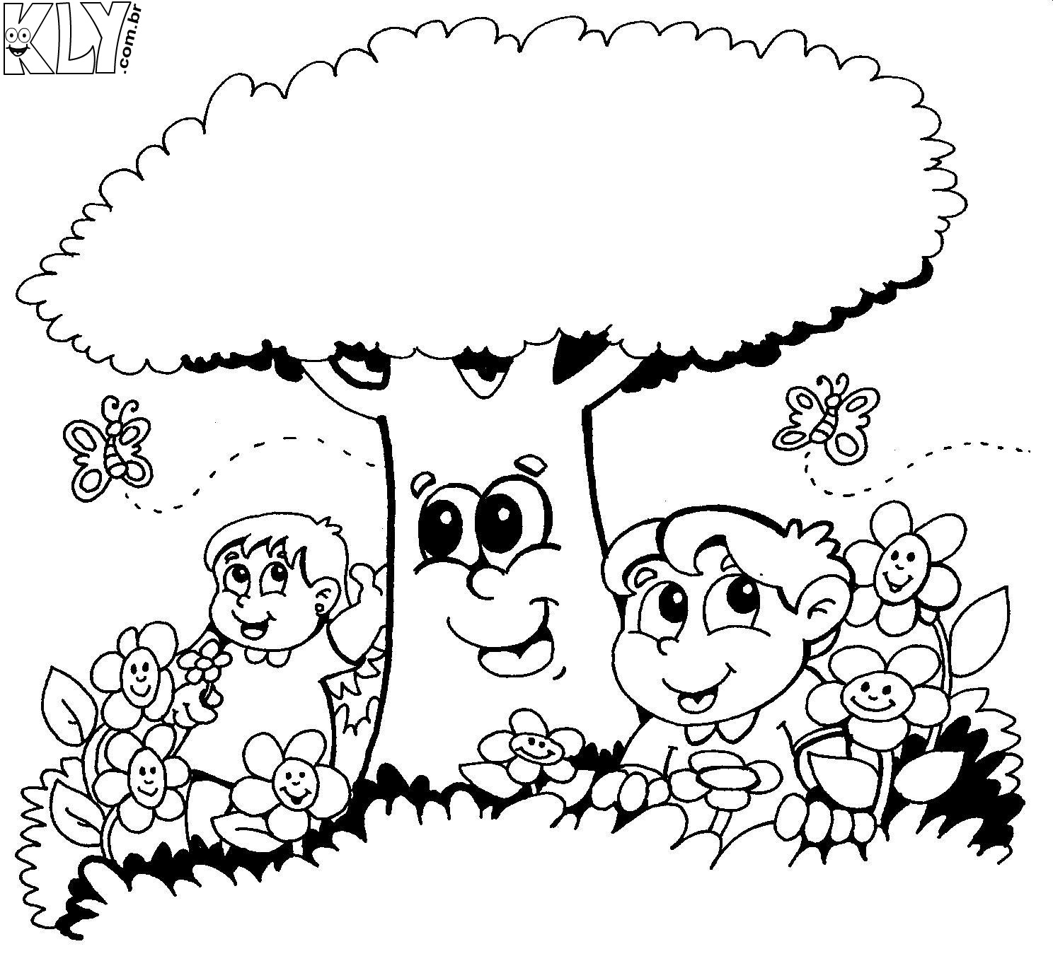 desenhos da primavera para colorir desenhos para colorir