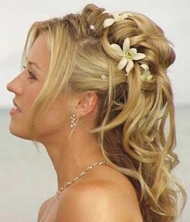 Idée de coiffure simple pour un mariage