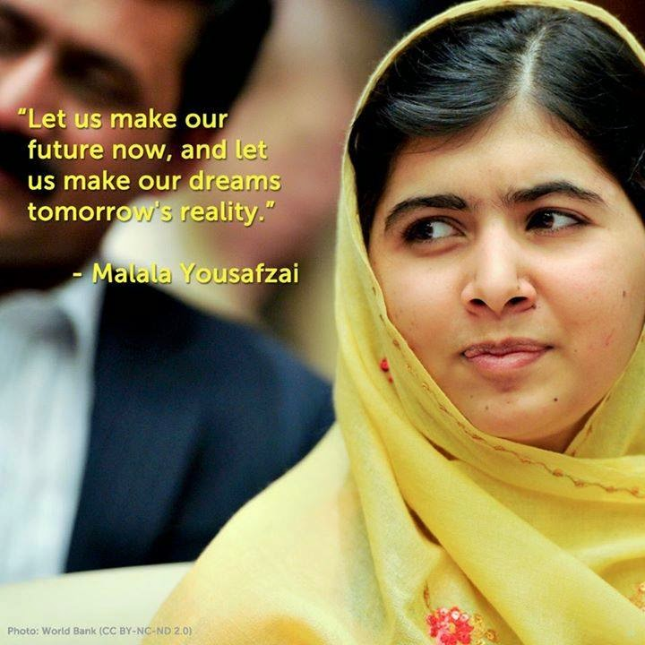 Malala photo essay assignment