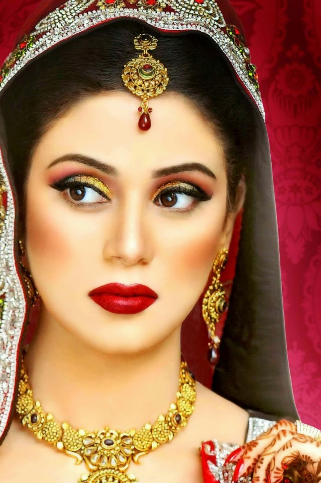 New Latest Bride Make up Beauty Tips For Bridal Wallpapers Free Download