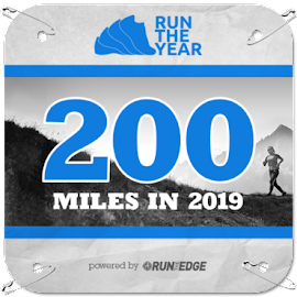 Current 2019 mileage bib