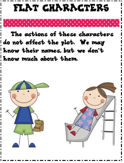 Flat: Flat Character Example