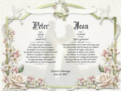 Wedding Gallery: Latest Sample Wedding Vows