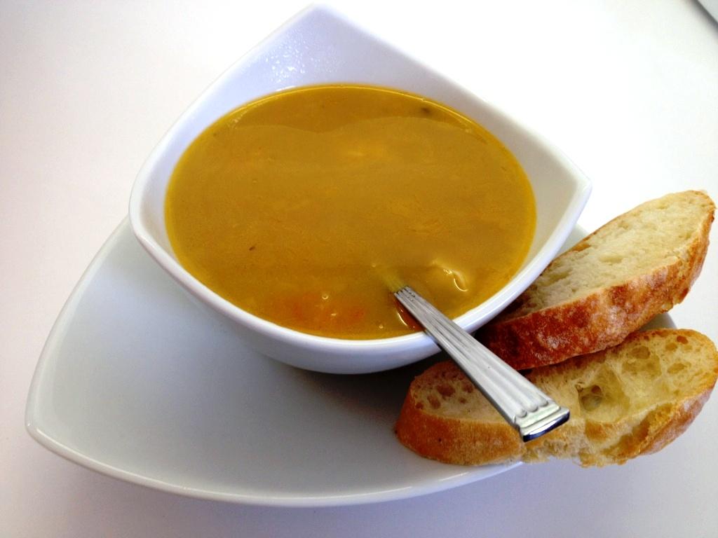 Marthese seasonal food aljotta maltese fish soup for Fish broth soup