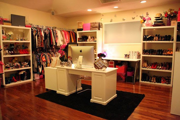 Closet com escrit rio home office juntos comprando meu for My dream bedroom maker
