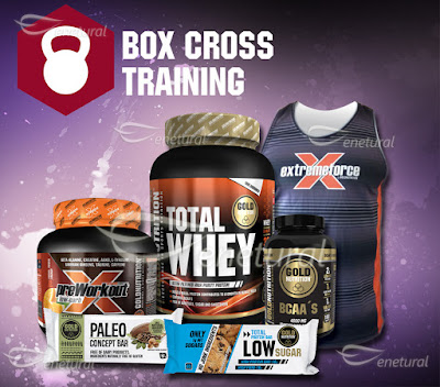 Box Cross Training da Marca Gold Nutrition