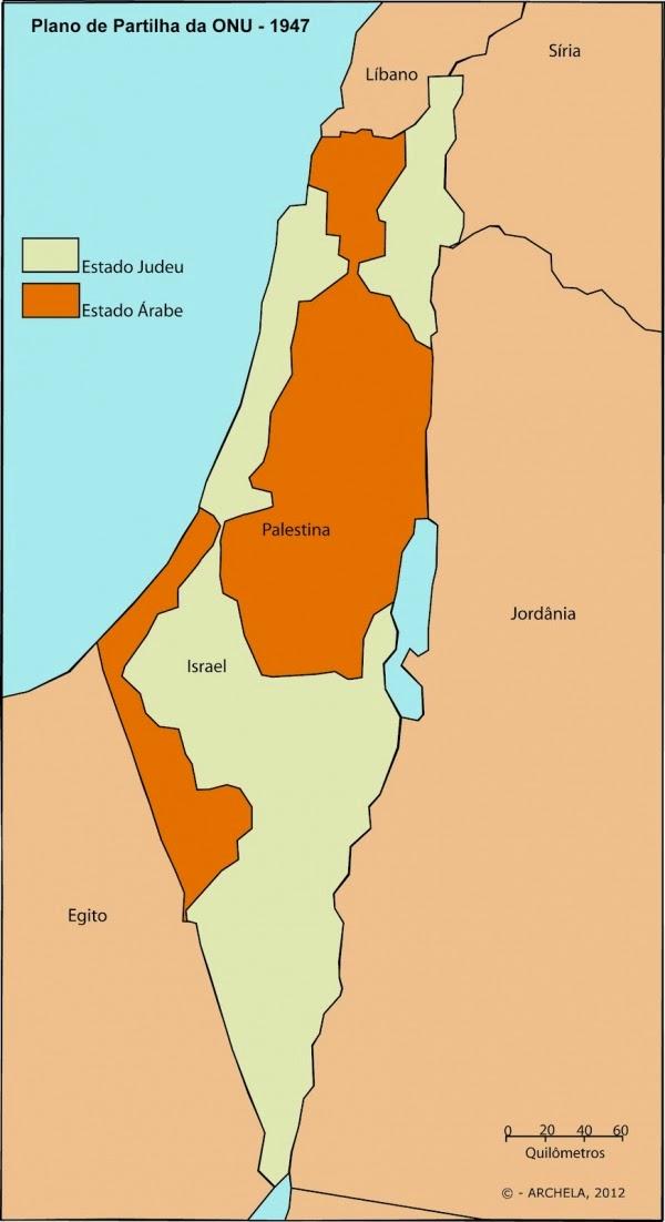Partilha da Palestina da ONU de 29 de novembro de 1947