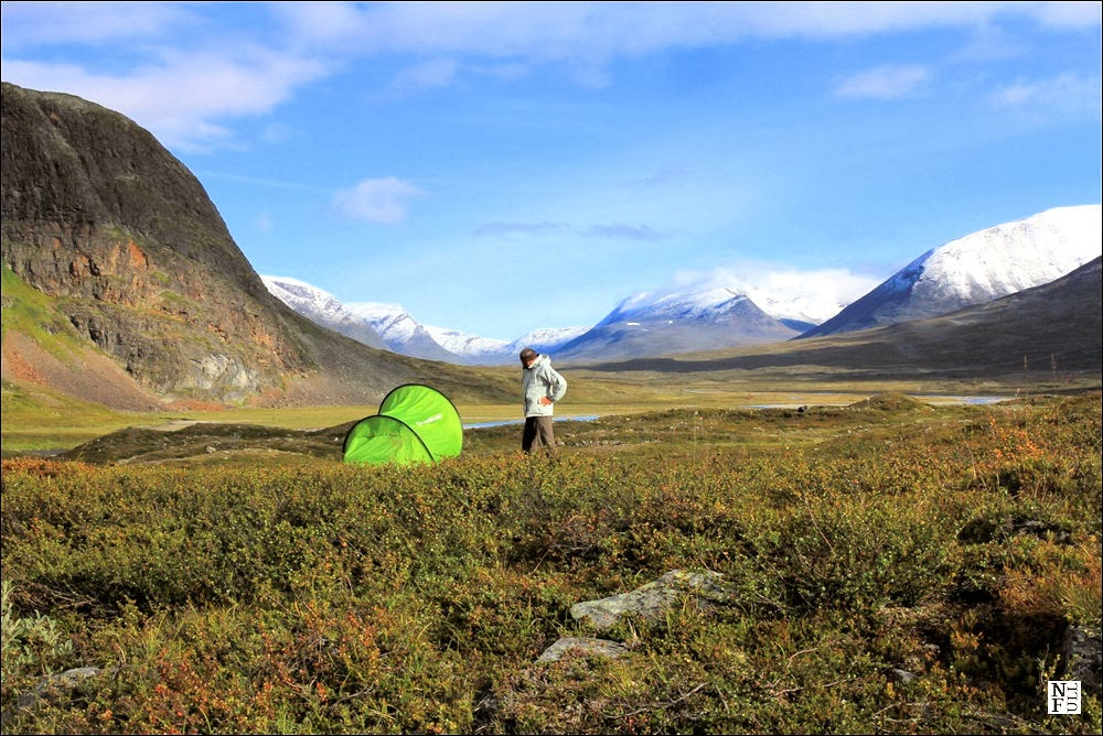 Singi Mountain Hut – King's Trail - Crossing The Arctic Circle.