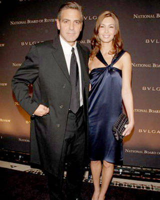 George Clooney and Sarah Lawson at the National Board of Review of Motion Pictures Annual Awards Gala