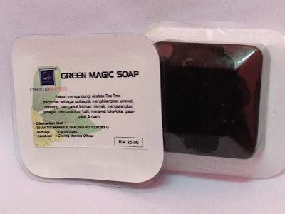 Green Magic Soap - Penawar Resdung