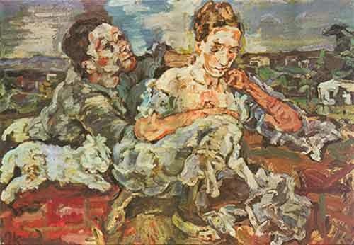 Peinture de Oskar Kokoschka