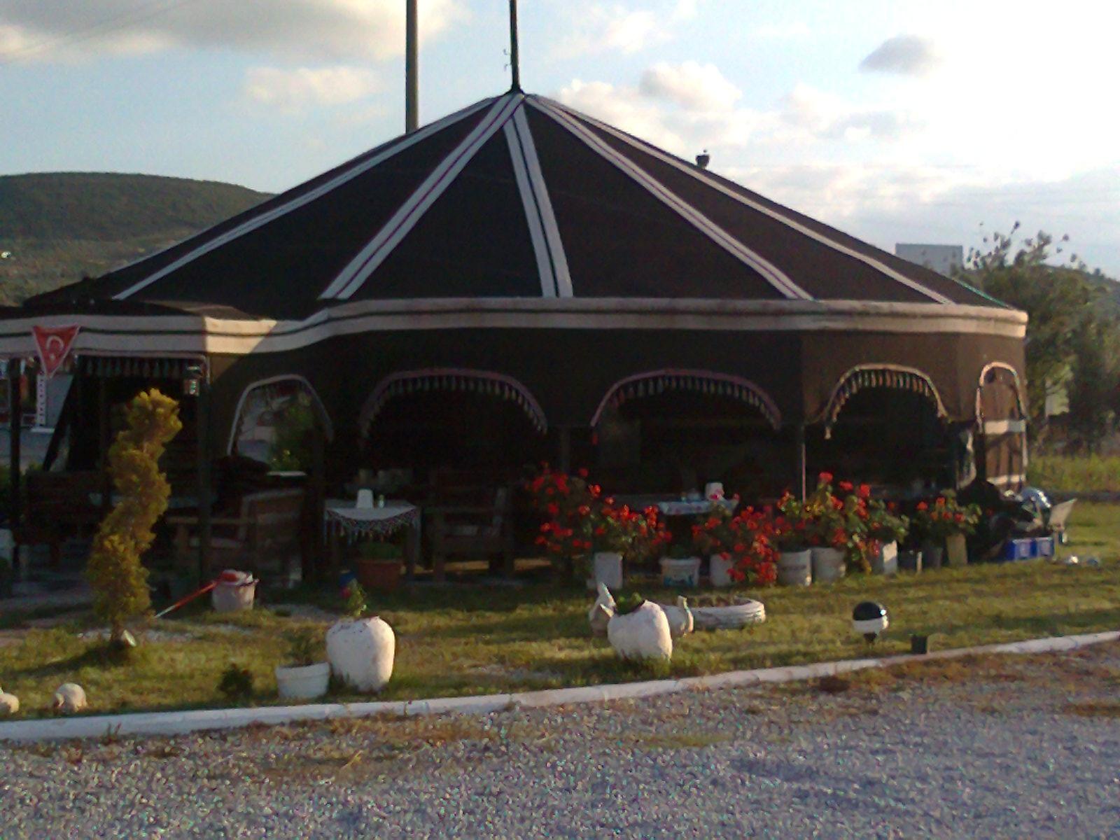 Restoran ve lokantalar için muhteşem bir çadır