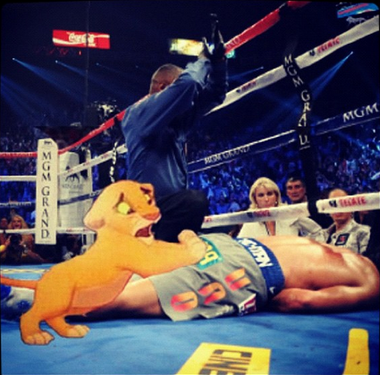 Dad, wake up - Simba to Manny Pacquiao