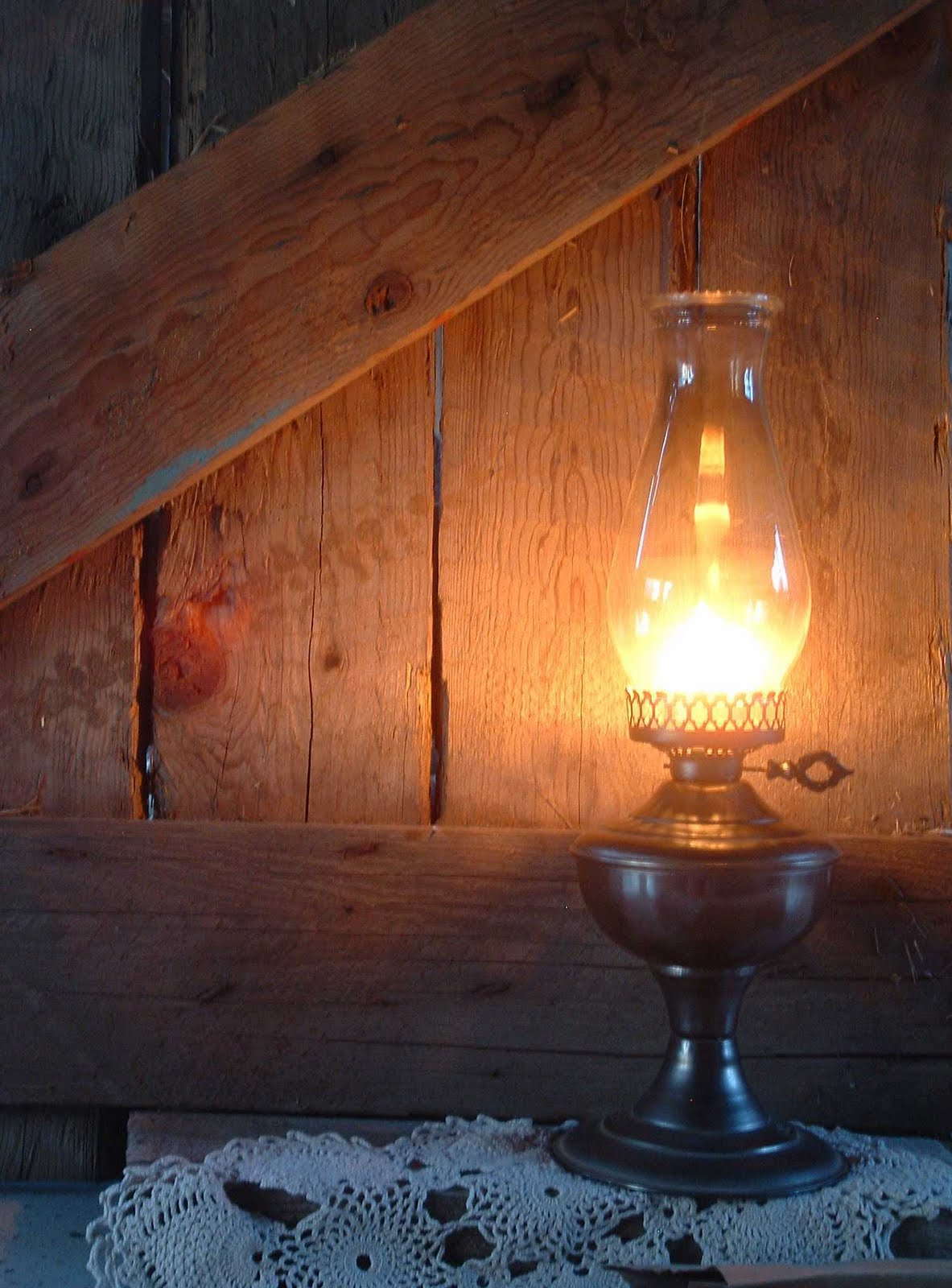 Old Fashioned Kerosene Lamps