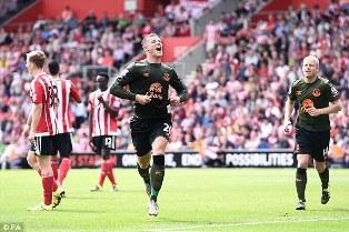 Southampton vs Everton 0-3