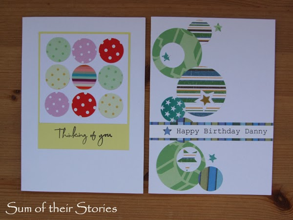 birthday cards with circles