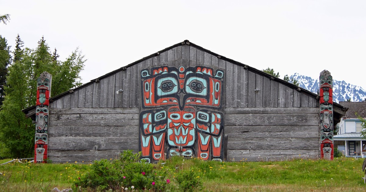 The outskirts of suburbia tlingit tribal house for Tribal house