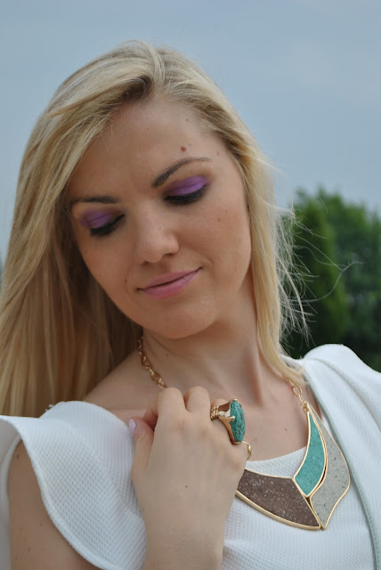 collana majique accessori estivi accessori estate 2015 mariafelicia magno fashion blogger colorblock by felym fashion blog italiani blog di moda blogger italiane di moda fashion bloggers italy majique london necklace summer accessorie oceanic jewellers fashion bloggers italy girls girltime