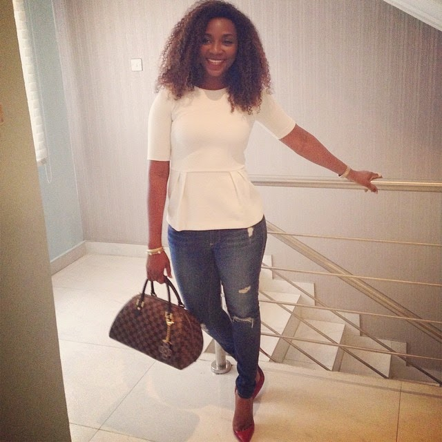 pictures of Genevieve Nnaji