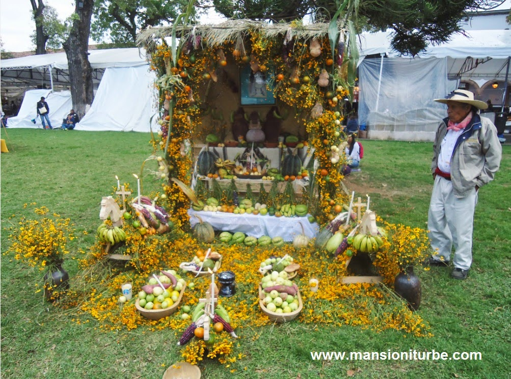 Day of the Dead Ofrendas in Pátzcuaro, Michoacan.