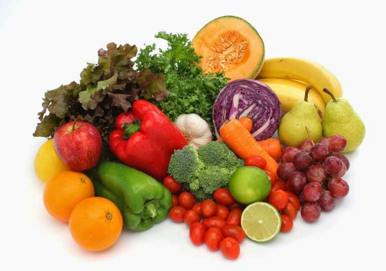 makan banyak sayuran dan buah-buahan