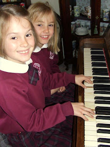 Georgie Playing the Piano