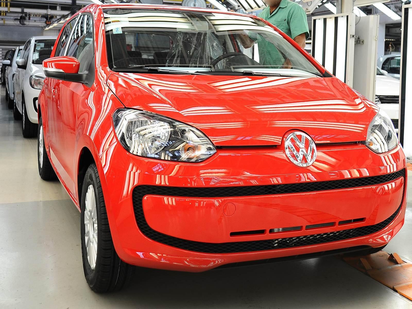 Volkswagen up! - produção