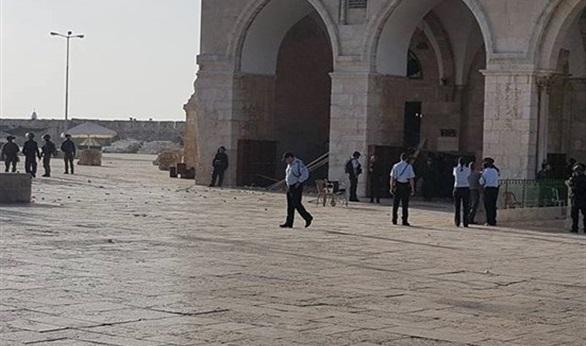 Zionis Israel Sebar Sejumlah Besar Tentara di Baitul Maqdis