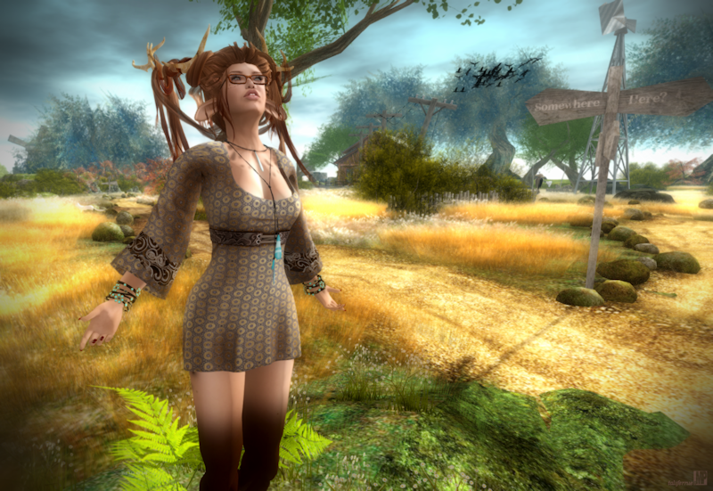 Second Life Avatar Role-Play Fashion Review