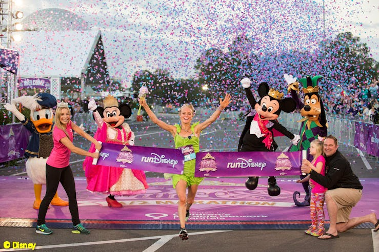 Lauren Passell wins the 2015 Disney Princess Half Marathon