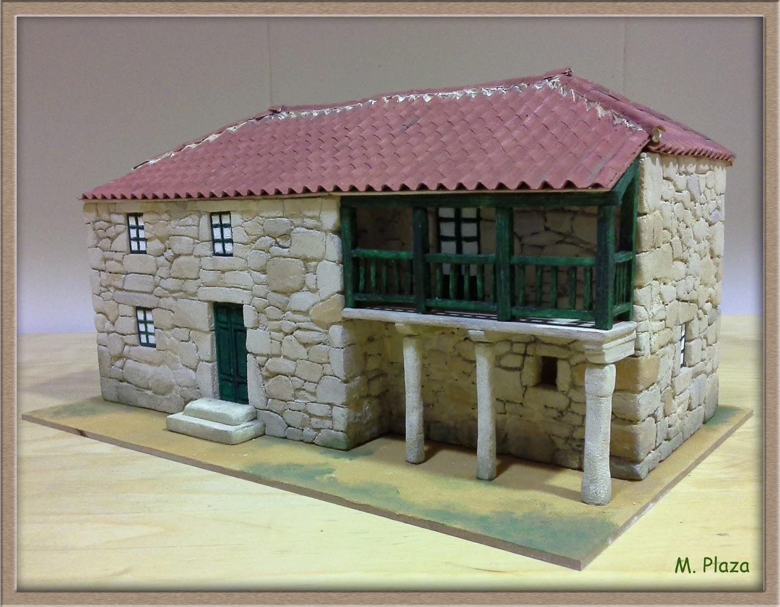 El taller de miguel artesan a para el bel n casas t picas - Casa tipica gallega ...