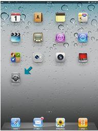 Definições iPad configurar 3G