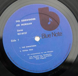 Vinylsavor Music Lee Morgan The Sidewinder
