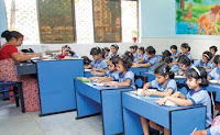 Mahadevi Birla World Academy classrooms