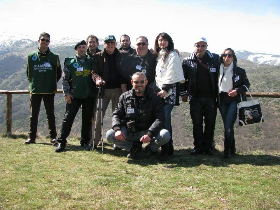 Lo staff di Pro Natura Abruzzo