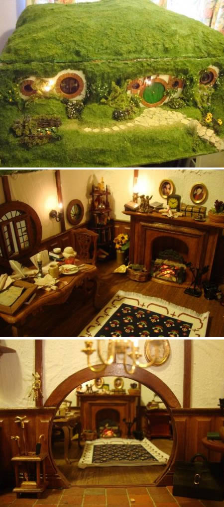 rumah miniatur unik