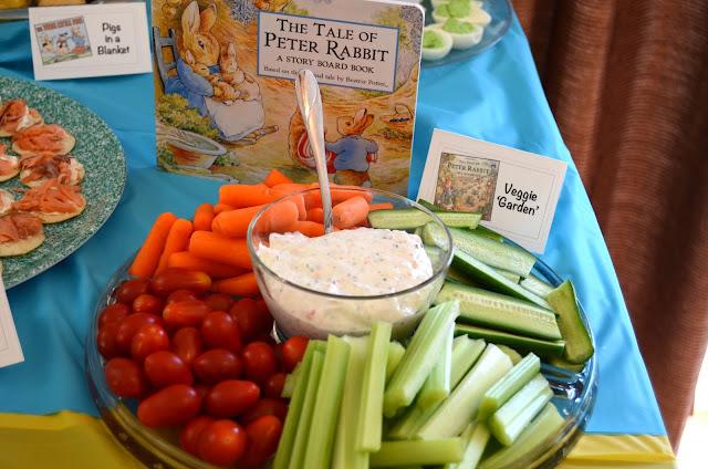 Bookworm Birthday Party Food