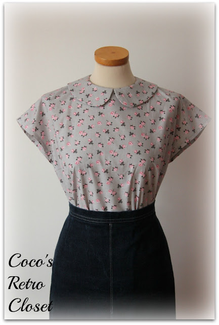Blouse Back Buttoning 80