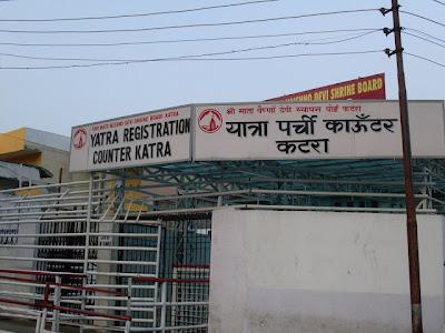 Yatra Parchi Counter - Katra - Vaishno Devi